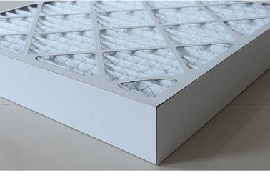 Cina HVAC Ventilation Cardboard Air Filter, G4 - F9 Carbon Panel Filter Berwarna-warni pemasok